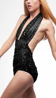 1405 HALTER BILL With RHINESTONES
