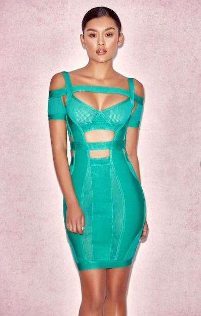 House of CB 2 Bandage Dress