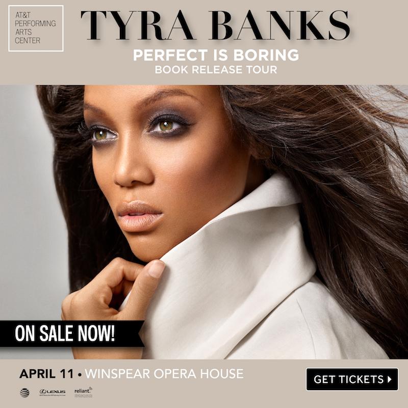 Tyra Banks Antm: America's Top Model Creator Tyra Banks Coming To Dallas